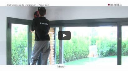 instalación paneles japoneses